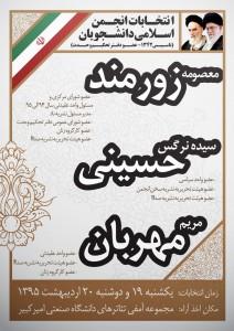 معصومه زورمند-سیده نرگس حسینی-مریم مهربان
