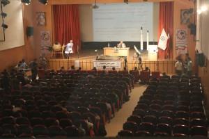 حضور پرشور دانشجویان در مراسم