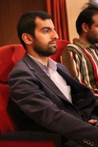 حضور آقای محمدحسن قائدشرف دبیر دفتر تحکیم وحدت