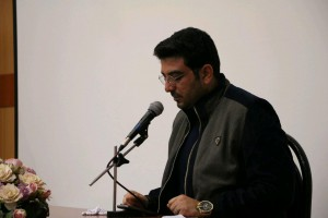 شعرخوانی آقای حامد عسکری